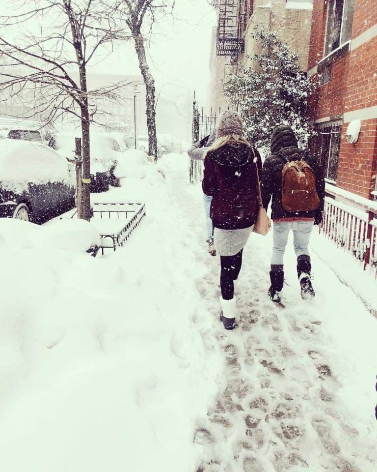 snow me and josh