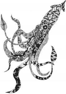 Bespoke Art in Black and White
