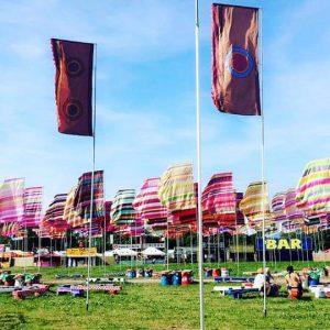 glastonbury flags