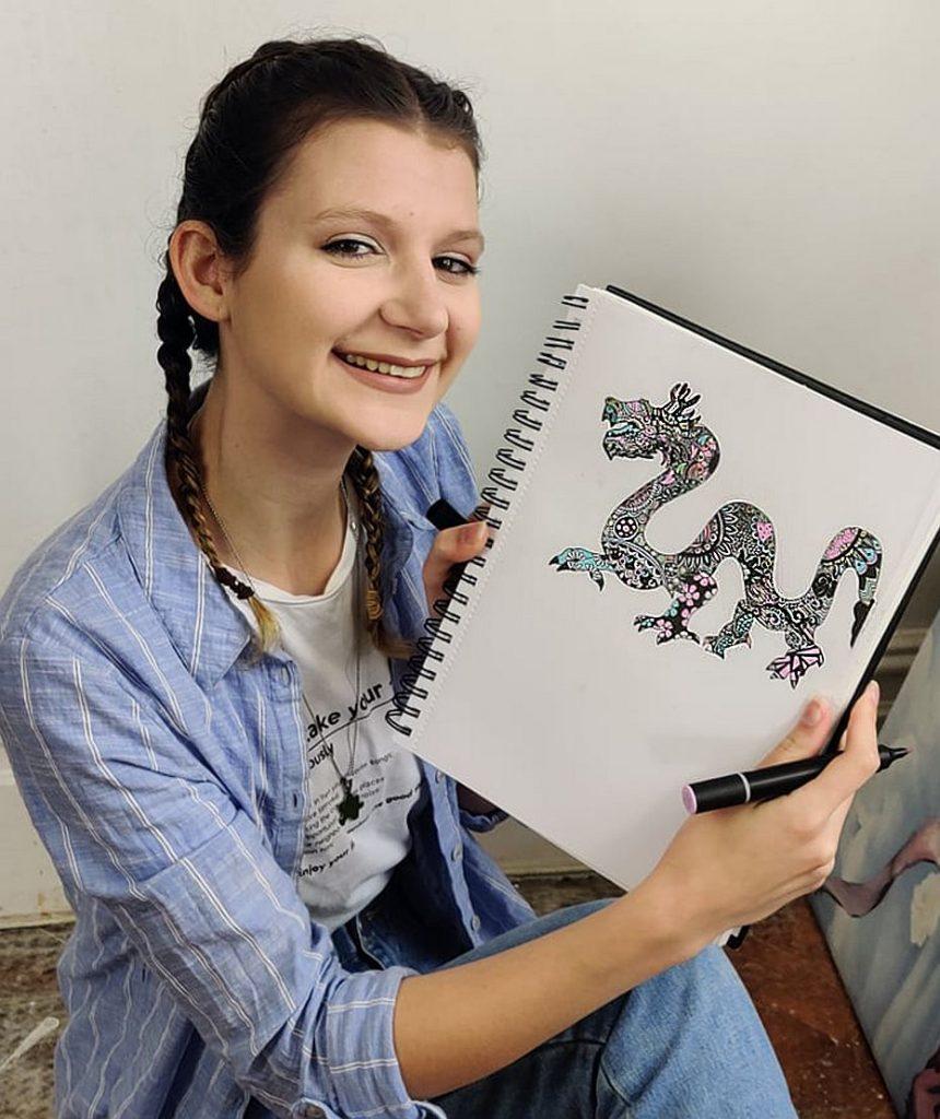 Famous UK Artist Abbie Rose Nicholls