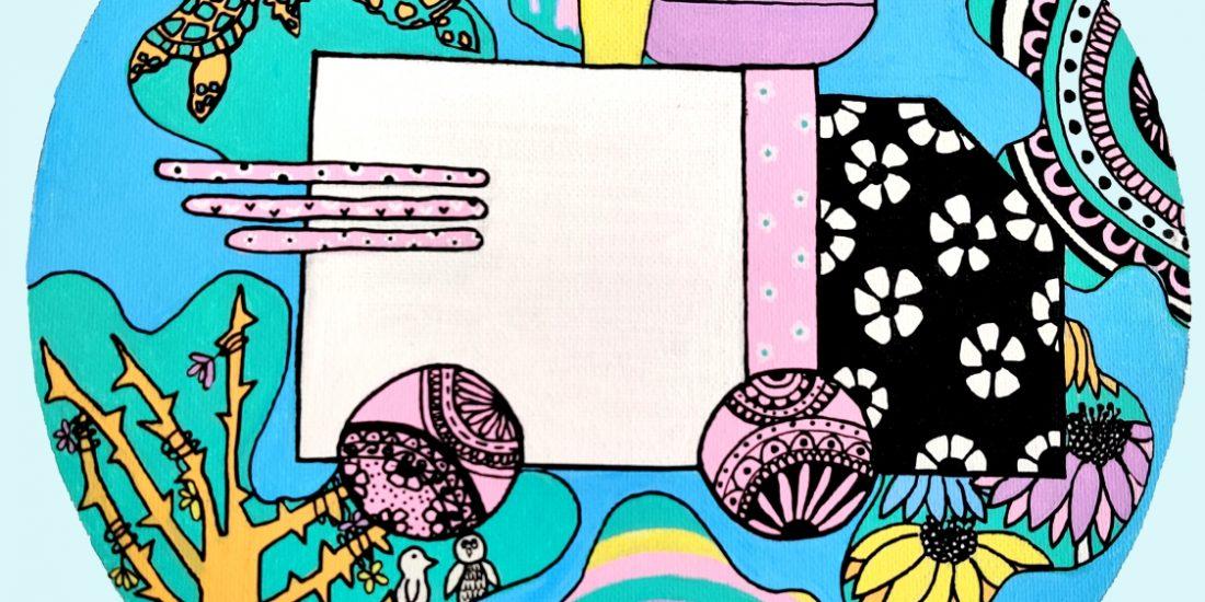 Pastel Doodle Artwork