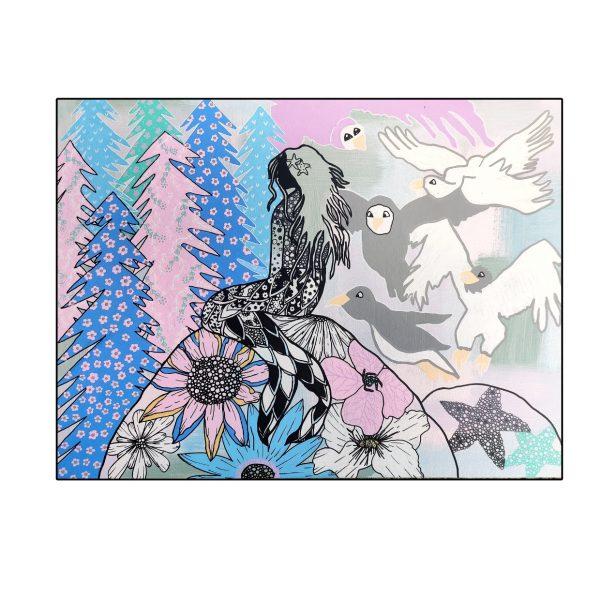 World Unknown Bespoke Artwork Mermaid