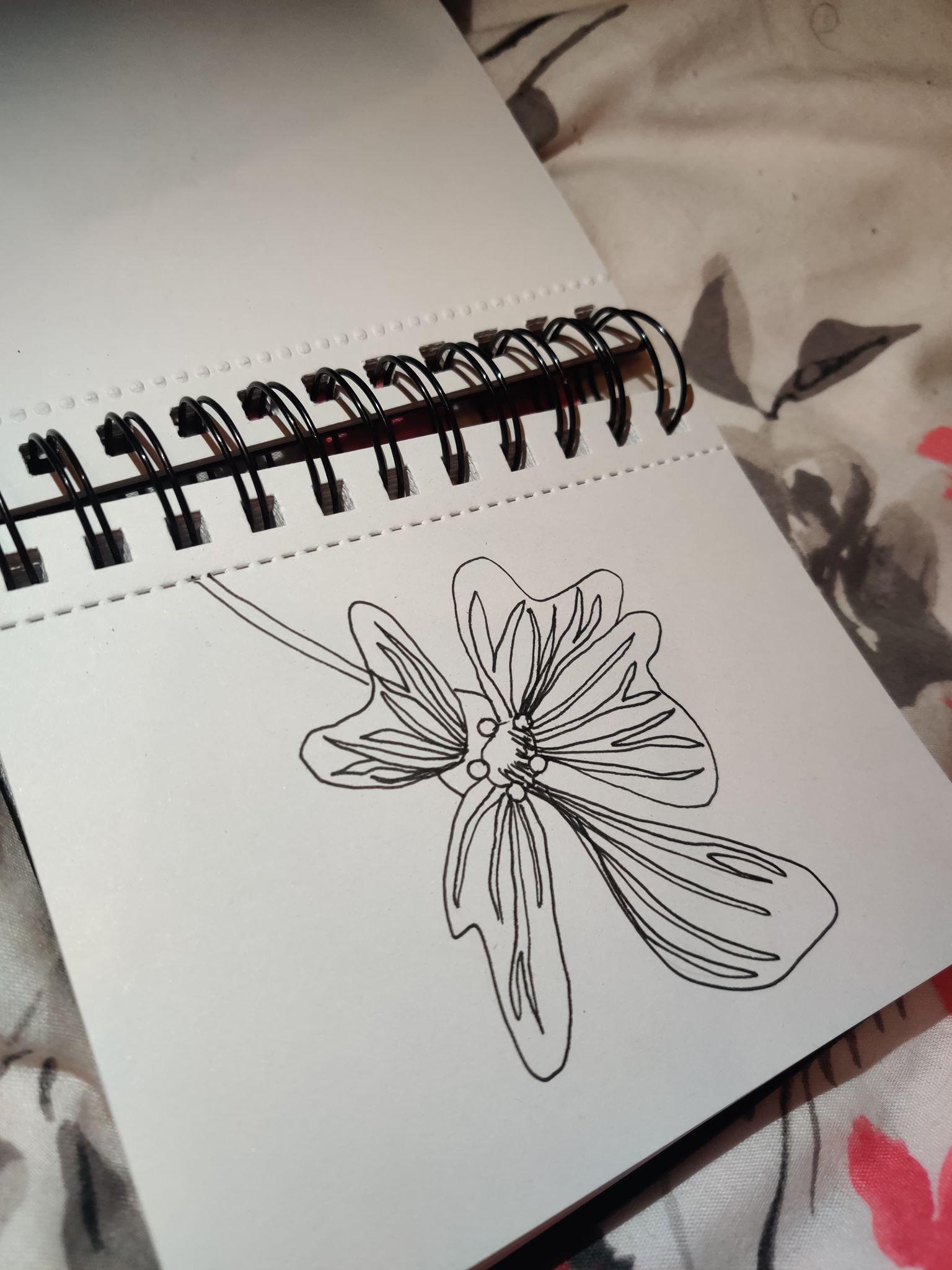eletric pink flower