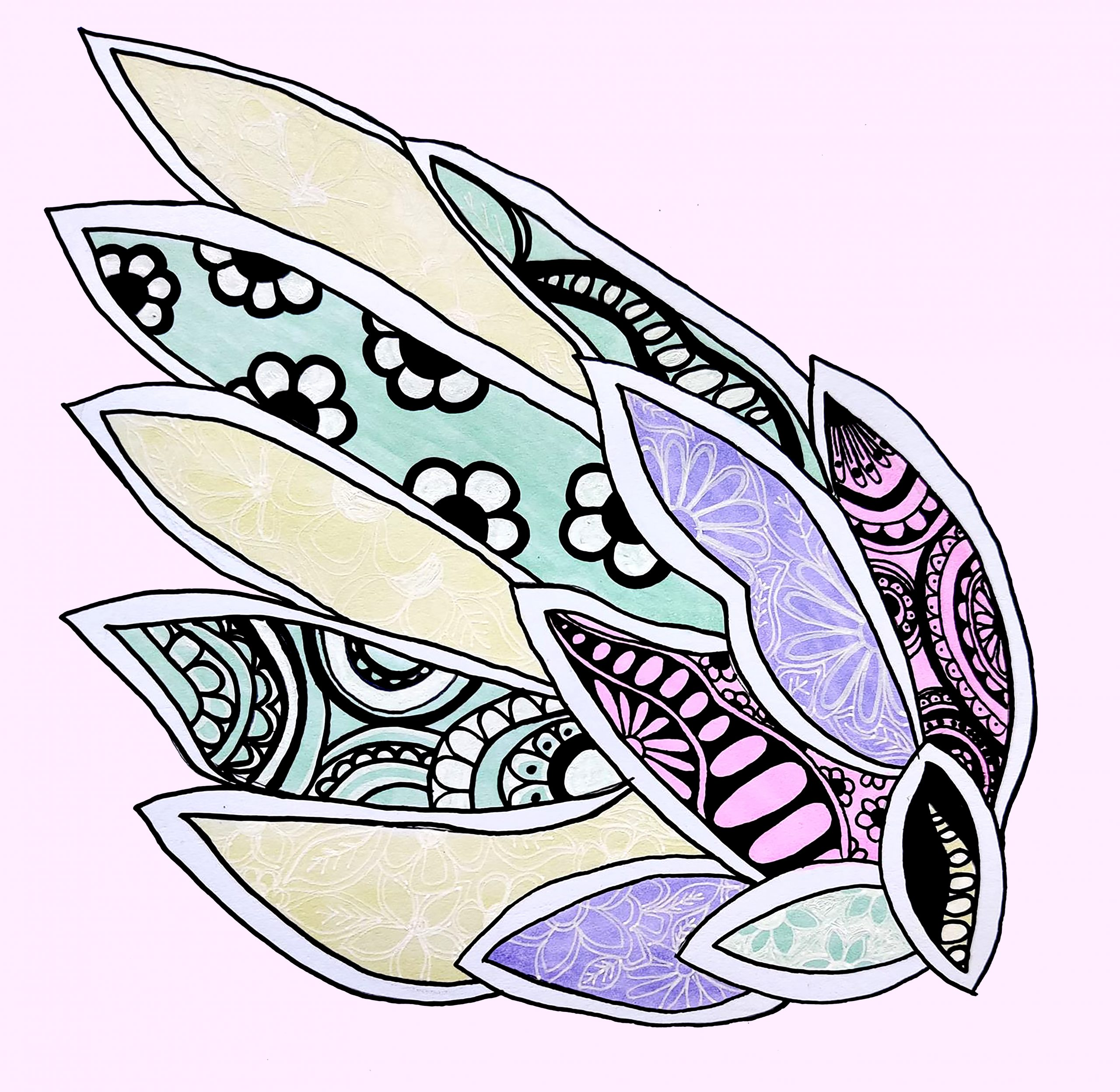 fairy wing pastel