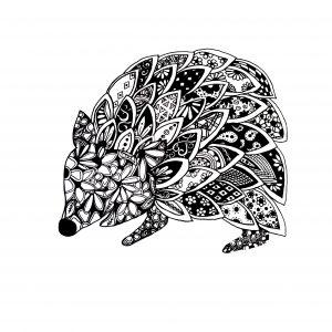 UK Artist Abbie Rose Black and White Art