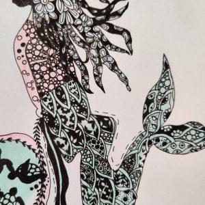 mermaid human