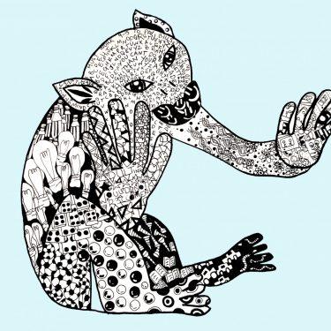 monkey artwork