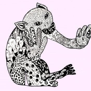 monkey 1 pink