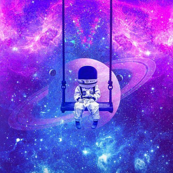 colourful galaxy digital artwork