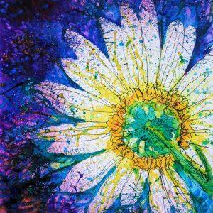 watercolour flower nature art
