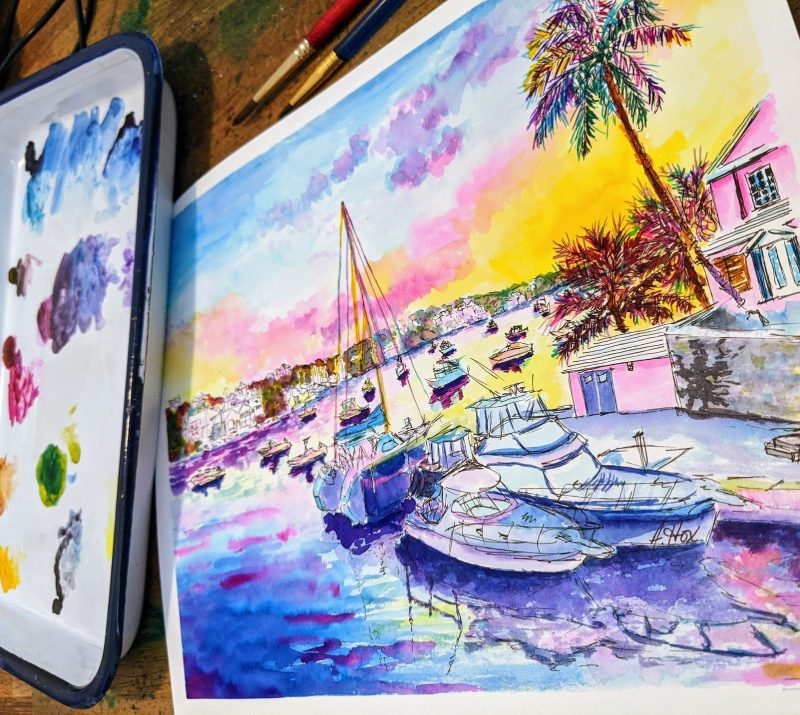 interview with Watercolour artist
