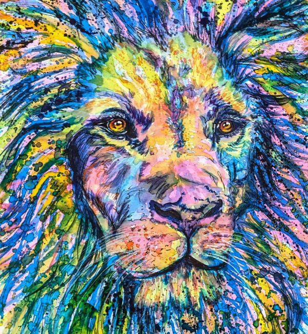 watercolour animal art